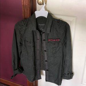 Aeropostale Military Style Jacket